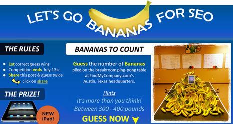 Let's Go Bananas For SEO! | Startup Revolution | Scoop.it