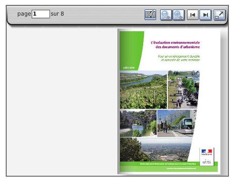 Plaquette sur l'ÉVALUATION environnementale des documents d'urbanisme - Internet DREAL Rhône-Alpes | Evaluation d'impact environnemental | Scoop.it