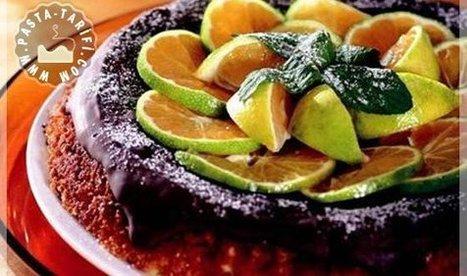 Portakallı Çikolatalı Kek Tarifi   Kek Tarifleri   Scoop.it