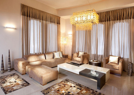 Classy and Sophisticated Suede Living Room | Simple Decorating Ideas For Home | Scoop.it