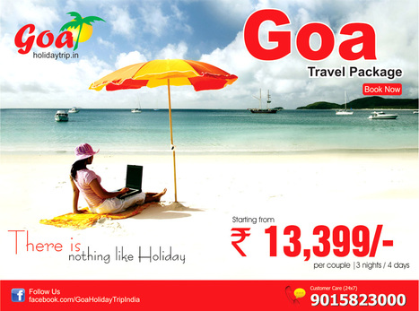 Goa Trip Package From Delhi - Noida | travel agent | Scoop.it
