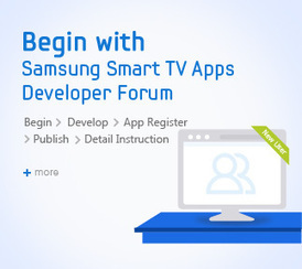 Samsung Smart TV Apps Developer Forum - SDK download, Guide & Forum | Next Web App | Scoop.it