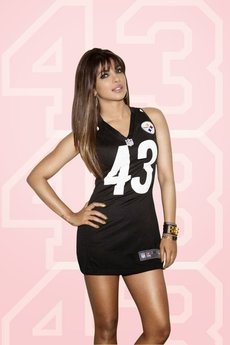 Priyanka Chopra at Photoshoot for NFL - The Bollywood Movies | Celebrities Fashion | Scoop.it