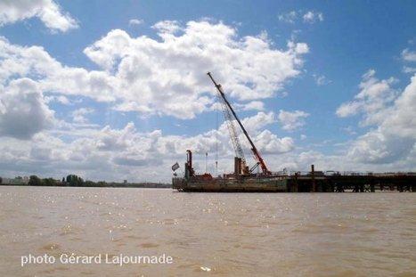 Le chantier du pont Bacalan Bastide depuis le fleuve - Bordeaux Gazette actualités et informations Bordeaux CUB | Bordeaux : tourisme et art de vivre | Scoop.it
