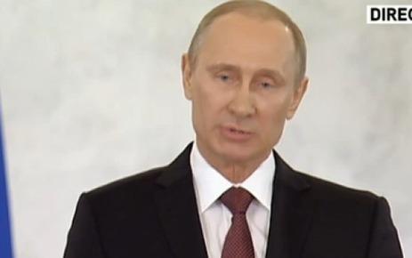Poutine signe un accord sur le rattachement de la Crimée à la Russie - Le Parisien | la crimée | Scoop.it