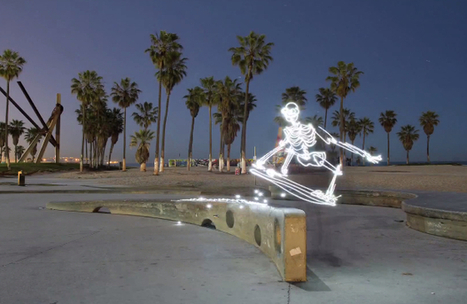 Light Goes On: An Unbelievable 700 Frame Stop Motion Light Painting Animation | Luminous Art | Scoop.it