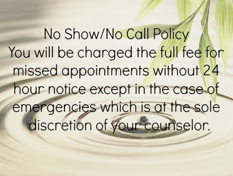 How to Manage Clients Who No-Show | Therapist Private Practice | Scoop.it
