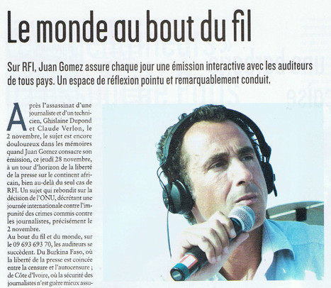 Le monde au bout du fil | DocPresseESJ | Scoop.it
