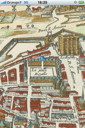 IL Y A 6 ANS...Visitez Paris avec votre iPhone et le plan historique de 1615 | Clic France | Scoop.it