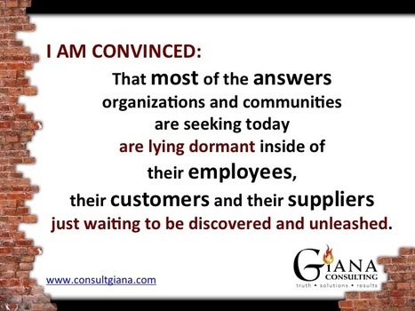 The answers you seek are lying dormant in plain sight... | Organizational Development | Scoop.it