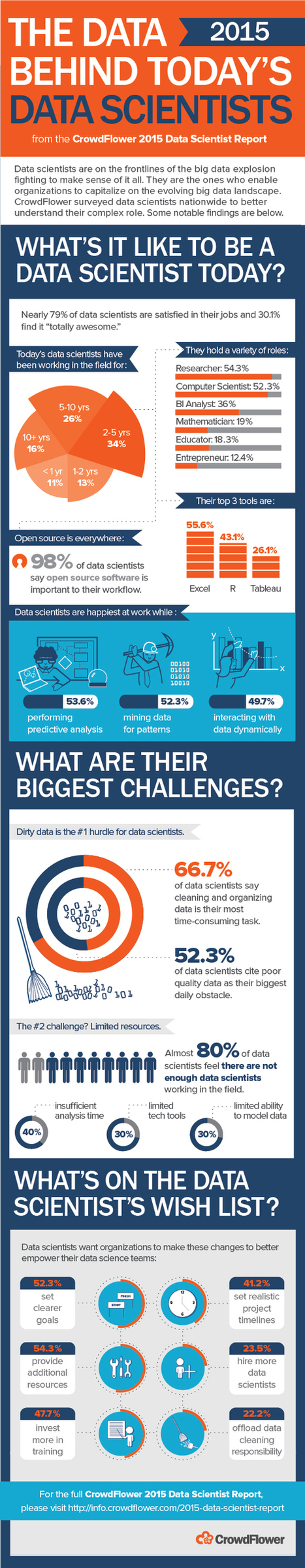 Being a Data Scientist in 2015 (Infographic)   Visual Data Mining   Scoop.it