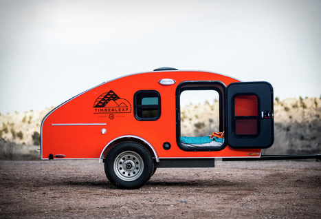 Timberleaf Camping Trailer | Stuff we drool about... | Scoop.it