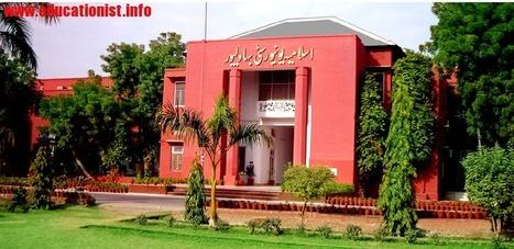 www.iub.edu.pk – The Islamia University of Bahawalpur B.A and BSC Result 2015 – IUB Results 2015 | www.educationist.info | Bahawalpur Board 10th Result 2013 | Scoop.it