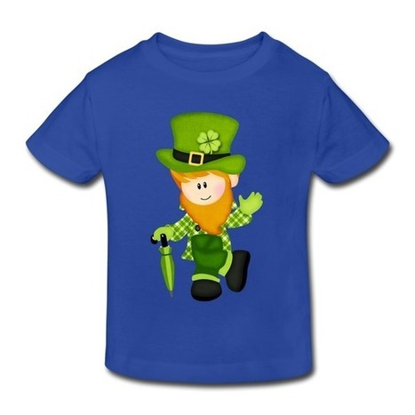 Cartoon St. Patrick Toddler T-shirt on Sale-Holidays & Occasions Kids & Babies -HICustom.net | My Custom World,From Hicustom!!! | Scoop.it