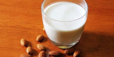 Recette de lait d'amande maison | Vegactu - végétarien, végétalien et végan | Scoop.it
