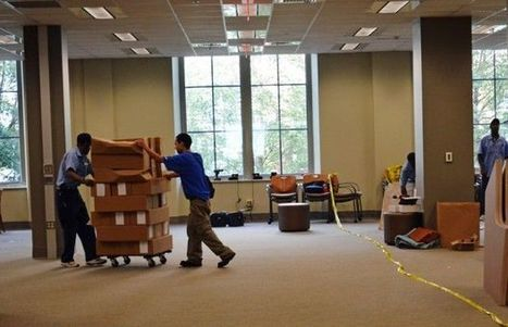 UGA Main Library creates new study spaces for students - Red and Black | Libraries | Scoop.it