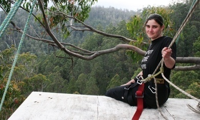 Forest Conservation Activist Miranda Gibson Spends 449 Days in Tree to Protest ... - Opposing Views | Conservation Biology, Genetics and Ecology | Scoop.it