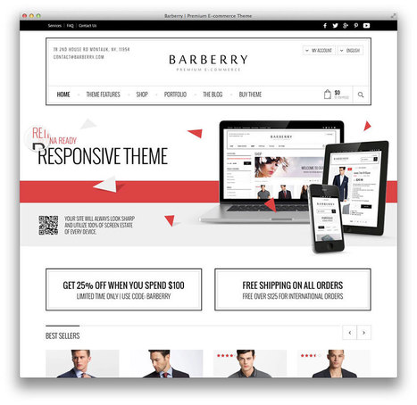34 Awesome eCommerce WordPress Themes 2014 - Colorlib | Webdesign by Accesscloud Webdesigns | Scoop.it
