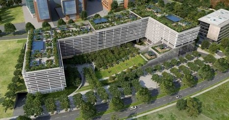 The World Green Center in Chile Aims To Reshape the Capital's Cityscape | Immotopic | Scoop.it