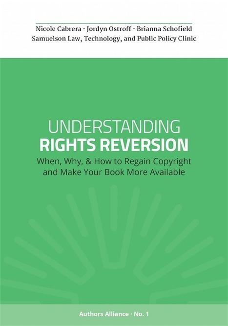 Recuperación de derechos de autor: cuándo, por qué, y cómo recuperar los derechos de autor y hacer que tu libro más disponible | Las Tics y las ciencias de la informacion | Scoop.it