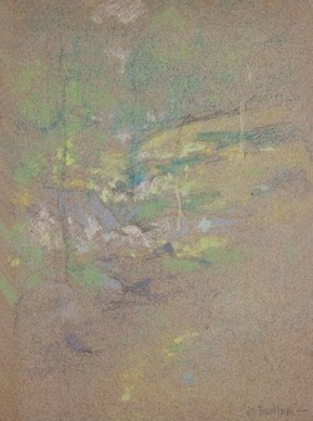 John Henry Twachtman, Horseshoe stream (Late 19th century) | Affinities | Scoop.it