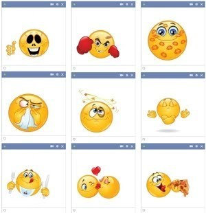 Chat Facebook Smileys Faces | rose move | Scoop.it