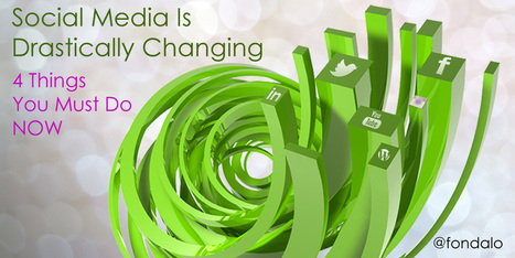 Social Media Is Drastically Changing – 4 Things You Must Do Now | Extreme Social | Scoop.it