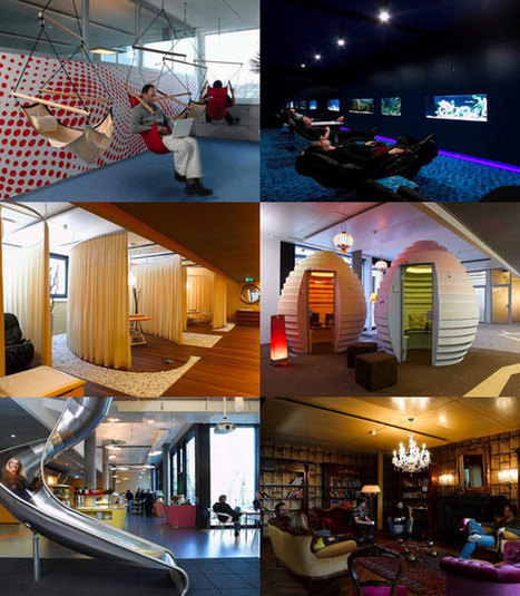 22 Creative Offices for Creative Designers | Misc Thoughts | Scoop.it