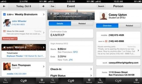 Apple Reportedly Acquires Personal Assistant App Cue for $40M | SEJ | Social Media Marketing | Scoop.it