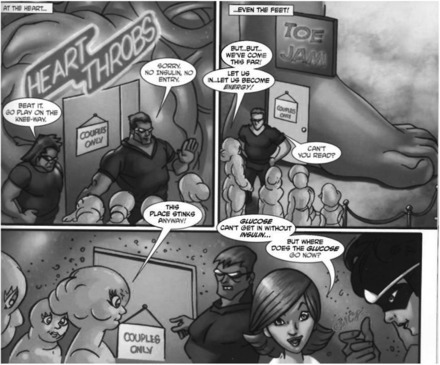 Comics and health education | Health promotion. Social marketing | Scoop.it