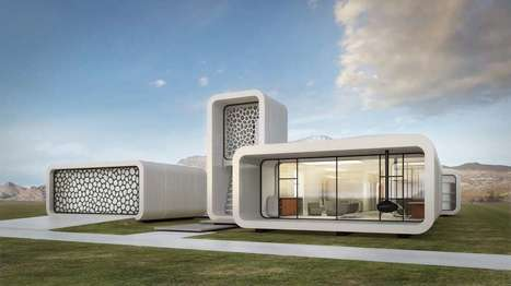 World's first 3D-printed office building to go up layer by layer in Dubai | Managing Technology and Talent for Learning & Innovation | Scoop.it