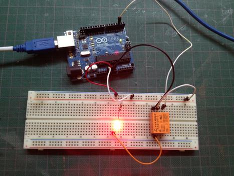 Lección 17 - Arduino - Utilizando Relevadores (Relés). | j | Scoop.it