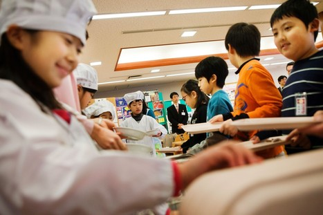 In Japan, school lunches are a matter of national pride | Education in Japan and Japanese Education | Scoop.it