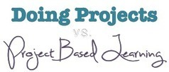 friEdTechnology: What's the Difference Between Doing Projects and Project Based Learning? | 21st Century Education | Scoop.it