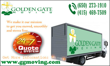 Professional Movers in San Francisc | Golden Gate Moving Services | Scoop.it