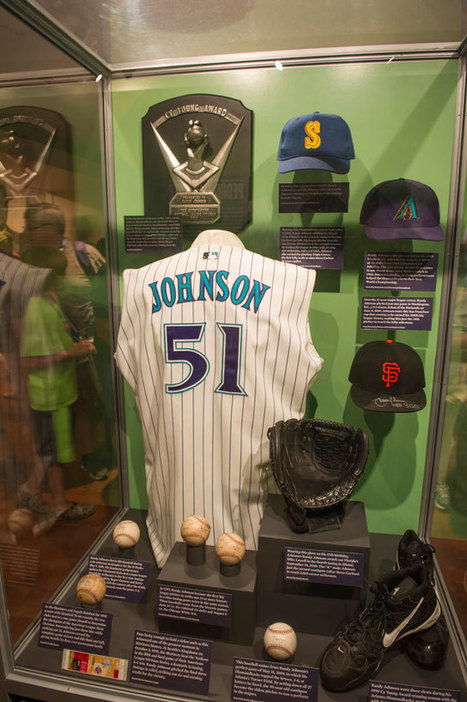 "Randy Johnson enters Hall of Fame after long and winding path | Buffy Hamilton's Unquiet Commonplace ""Book"" 