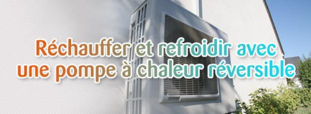 Réchauffer et refroidir avec une pompe à chaleur réversible | La Revue de Technitoit | Scoop.it