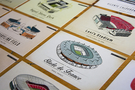 Lehel Kovacs illustrates iconic sporting grounds in world of stadiums | D_sign | Scoop.it