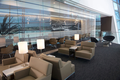 After a Drab Decade,Swanky Airport Lounges Are Back | KLM | Scoop.it