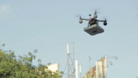 Des pizzas livrées par drone en Inde | Marketing Digital & Multicanal | Scoop.it