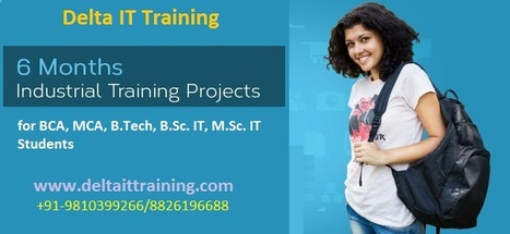Live Project Training For MCA B.tech Final Year In Gurgaon|Php Classes | Delta Web Services | Scoop.it
