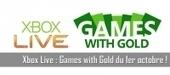 Xbox Live : Games with Gold du 1er octobre ! - Chroniques d'un Geek - Actualités Geek, Informatique et Jeux vidéos | Jeux vidéos | Scoop.it