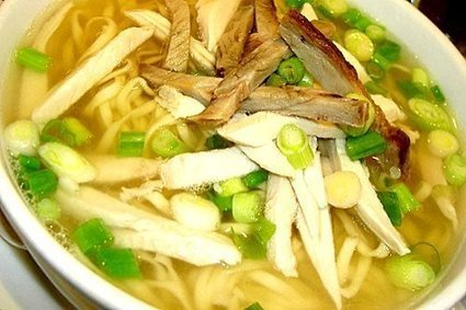 Chicken Mami Noodles Soup Recipe ( Pancit Mami ) | Delicious Filipino Foods | Scoop.it