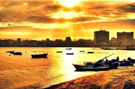 Amazing sunset at Alexandria !   Blue sky travel   Scoop.it