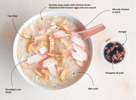 Indulge in the warming comfort of mee suah tau | Gluten Freedom | Scoop.it
