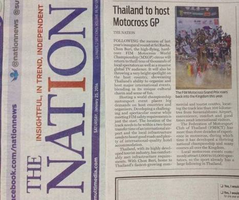 ThaiMXGP 2014 news on The Nation | FMSCT-Live.com | Scoop.it