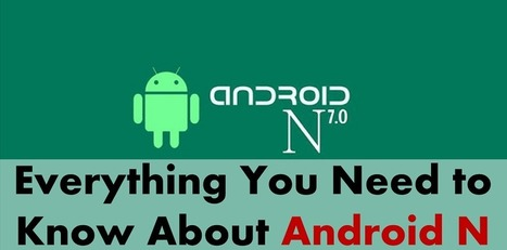 Read All You need to Know About the Latest Android N - Arth I-Soft Blog   Android App Development India   Scoop.it