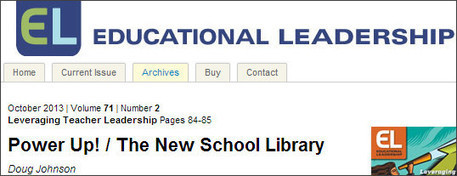 School Library Monthly Blog » Blog Archive » Article to Share with School Leaders | Information Science | Scoop.it
