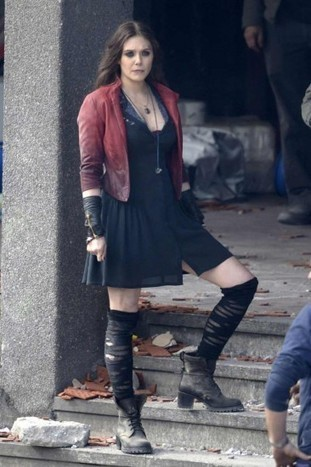Avengers Age of Ultron Scarlet Witch Jacket | CELEBRITY OUTFITS | Scoop.it