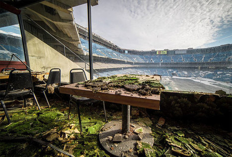 What The Abandoned Silverdome Looks Like 13 Years After The Detroit Lions Left | Exploration Urbaine | Scoop.it